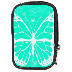 Butterfly Cut Out Flowers Compact Camera Cases by Simbadda
