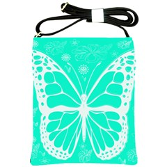 Butterfly Cut Out Flowers Shoulder Sling Bags