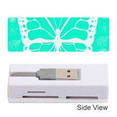Butterfly Cut Out Flowers Memory Card Reader (stick)