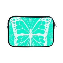 Butterfly Cut Out Flowers Apple Ipad Mini Zipper Cases by Simbadda