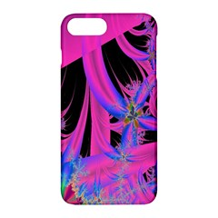 Fractal In Bright Pink And Blue Apple Iphone 7 Plus Hardshell Case