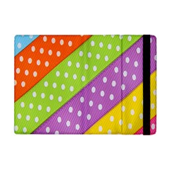 Colorful Easter Ribbon Background Apple Ipad Mini Flip Case