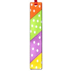 Colorful Easter Ribbon Background Large Book Marks by Simbadda