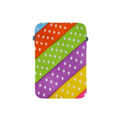 Colorful Easter Ribbon Background Apple Ipad Mini Protective Soft Cases by Simbadda