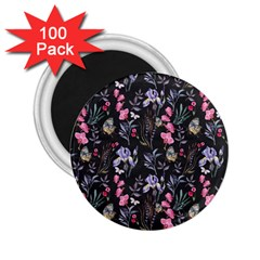 Wildflowers I 2 25  Magnets (100 Pack)  by tarastyle