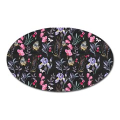 Wildflowers I Oval Magnet