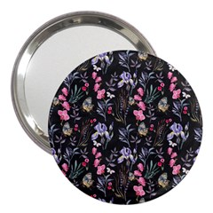 Wildflowers I 3  Handbag Mirrors