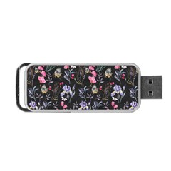 Wildflowers I Portable Usb Flash (one Side)