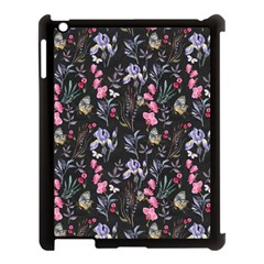 Wildflowers I Apple Ipad 3/4 Case (black)