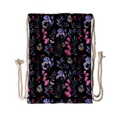 Wildflowers I Drawstring Bag (small)
