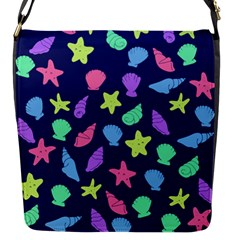 Shells Flap Messenger Bag (s) by BubbSnugg