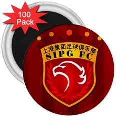 Shanghai Sipg F C  3  Magnets (100 Pack) by Valentinaart