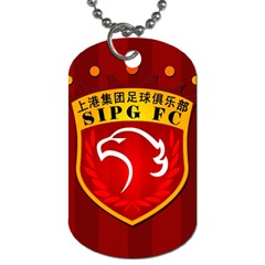 Shanghai Sipg F C  Dog Tag (two Sides) by Valentinaart