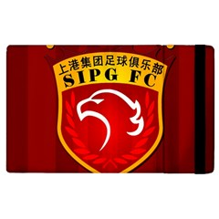 Shanghai Sipg F C  Apple Ipad 3/4 Flip Case by Valentinaart