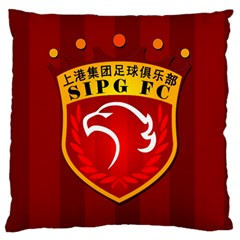 Shanghai Sipg F C  Standard Flano Cushion Case (one Side) by Valentinaart