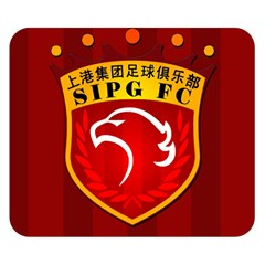 Shanghai Sipg F C  Double Sided Flano Blanket (small)  by Valentinaart