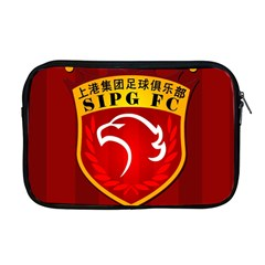 Shanghai Sipg F C  Apple Macbook Pro 17  Zipper Case by Valentinaart