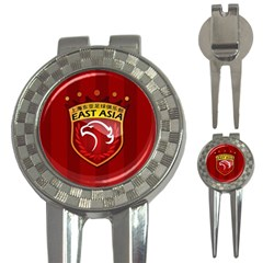 Shanghai Sipg F C  3 In 1 Golf Divots by Valentinaart