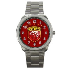 Shanghai Sipg F C  Sport Metal Watch by Valentinaart