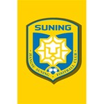 Jiangsu Suning F.C. 5.5  x 8.5  Notebooks Back Cover