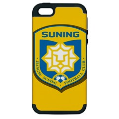 Jiangsu Suning F C  Apple Iphone 5 Hardshell Case (pc+silicone) by Valentinaart