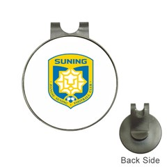 Jiangsu Suning F C  Hat Clips With Golf Markers by Valentinaart