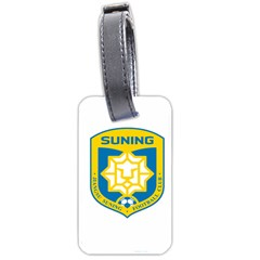 Jiangsu Suning F C  Luggage Tags (two Sides) by Valentinaart