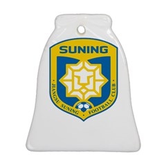 Jiangsu Suning F C  Bell Ornament (two Sides) by Valentinaart