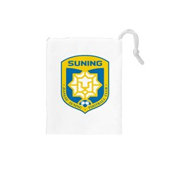 Jiangsu Suning F C  Drawstring Pouches (small)  by Valentinaart