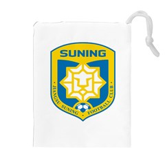 Jiangsu Suning F C  Drawstring Pouches (extra Large) by Valentinaart
