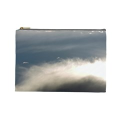 Cloud Wave Cosmetic Bag (large)  by DeneWestUK