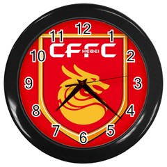 Hebei China Fortune F C  Wall Clocks (black) by Valentinaart