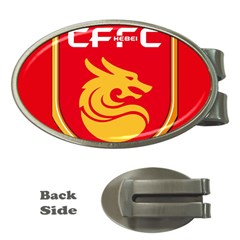 Hebei China Fortune F C  Money Clips (oval)  by Valentinaart