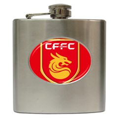 Hebei China Fortune F C  Hip Flask (6 Oz) by Valentinaart