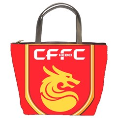 Hebei China Fortune F C  Bucket Bags by Valentinaart