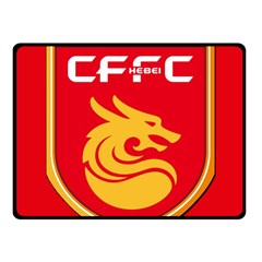 Hebei China Fortune F C  Fleece Blanket (small) by Valentinaart