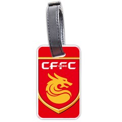 Hebei China Fortune F C  Luggage Tags (one Side)  by Valentinaart