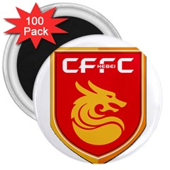 Hebei China Fortune F C  3  Magnets (100 Pack) by Valentinaart