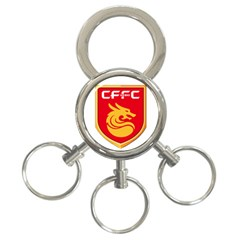 Hebei China Fortune F C  3 Ring Key Chains by Valentinaart