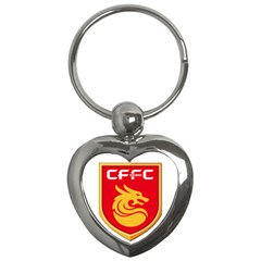 Hebei China Fortune F C  Key Chains (heart)  by Valentinaart