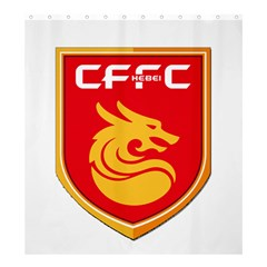 Hebei China Fortune F C  Shower Curtain 66  X 72  (large)  by Valentinaart