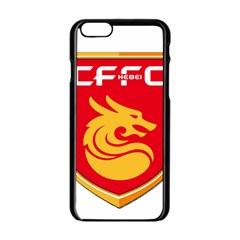 Hebei China Fortune F C  Apple Iphone 6/6s Black Enamel Case by Valentinaart