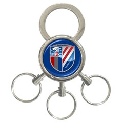 Shanghai Greenland Shenhua F C  3 Ring Key Chains by Valentinaart