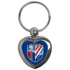 Shanghai Greenland Shenhua F C  Key Chains (heart)  by Valentinaart