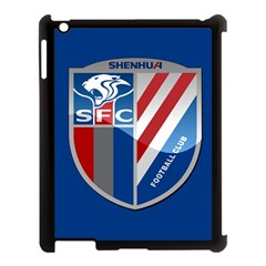 Shanghai Greenland Shenhua F C  Apple Ipad 3/4 Case (black) by Valentinaart
