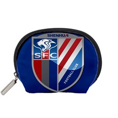 Shanghai Greenland Shenhua F C  Accessory Pouches (small)  by Valentinaart