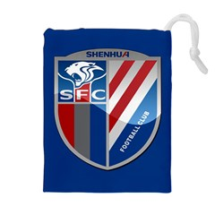 Shanghai Greenland Shenhua F C  Drawstring Pouches (extra Large) by Valentinaart