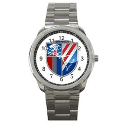 Shanghai Greenland Shenhua F C  Sport Metal Watch by Valentinaart