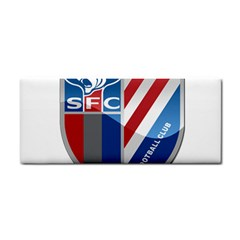 Shanghai Greenland Shenhua F C  Cosmetic Storage Cases by Valentinaart