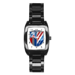 Shanghai Greenland Shenhua F C  Stainless Steel Barrel Watch